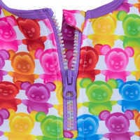 Image of Mickey and Minnie Mouse Swimsuit and Shorts Set for Girls # 7
