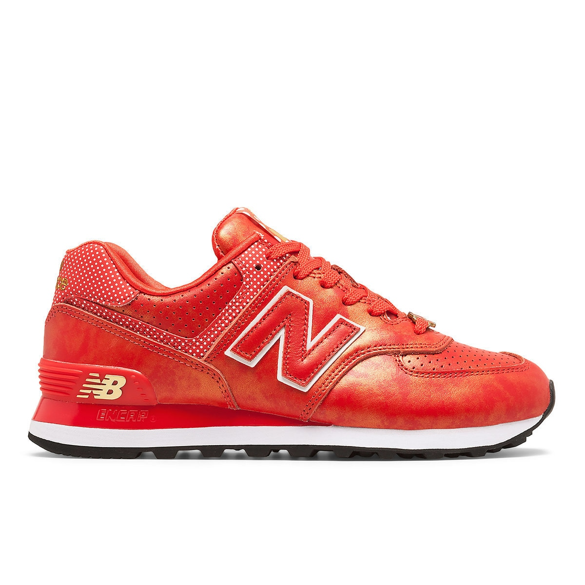 Cheap deal New Balance 574 Sneakers Grey Red 0xA6DVLsl2iW Womens Shoes