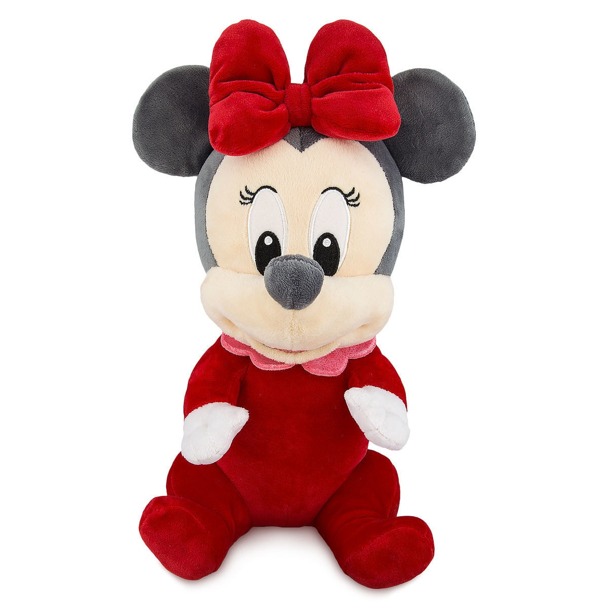 Minnie Mouse My First Christmas Plush With Blanket Pouch