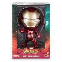 Image of Iron Man Cosbaby Bobble-Head Figure by Hot Toys - Marvel's Avengers: Infinity War # 3