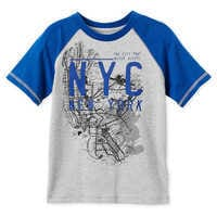 Image of Mickey Mouse NYC Map T-Shirt for Boys - New York City # 1