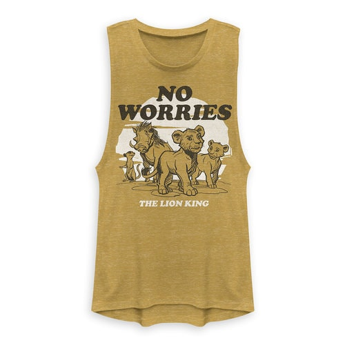 The Lion King Tank Top for Juniors - 2019 Film