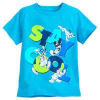 Image of Mickey Mouse and Friends T-Shirt for Boys - Blue # 1