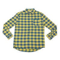 Image of Flounder Flannel Shirt for Adults by Cakeworthy - The Little Mermaid # 7