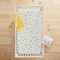 Image of Winnie the Pooh Knit Crib Sheet by Hanna Andersson # 2