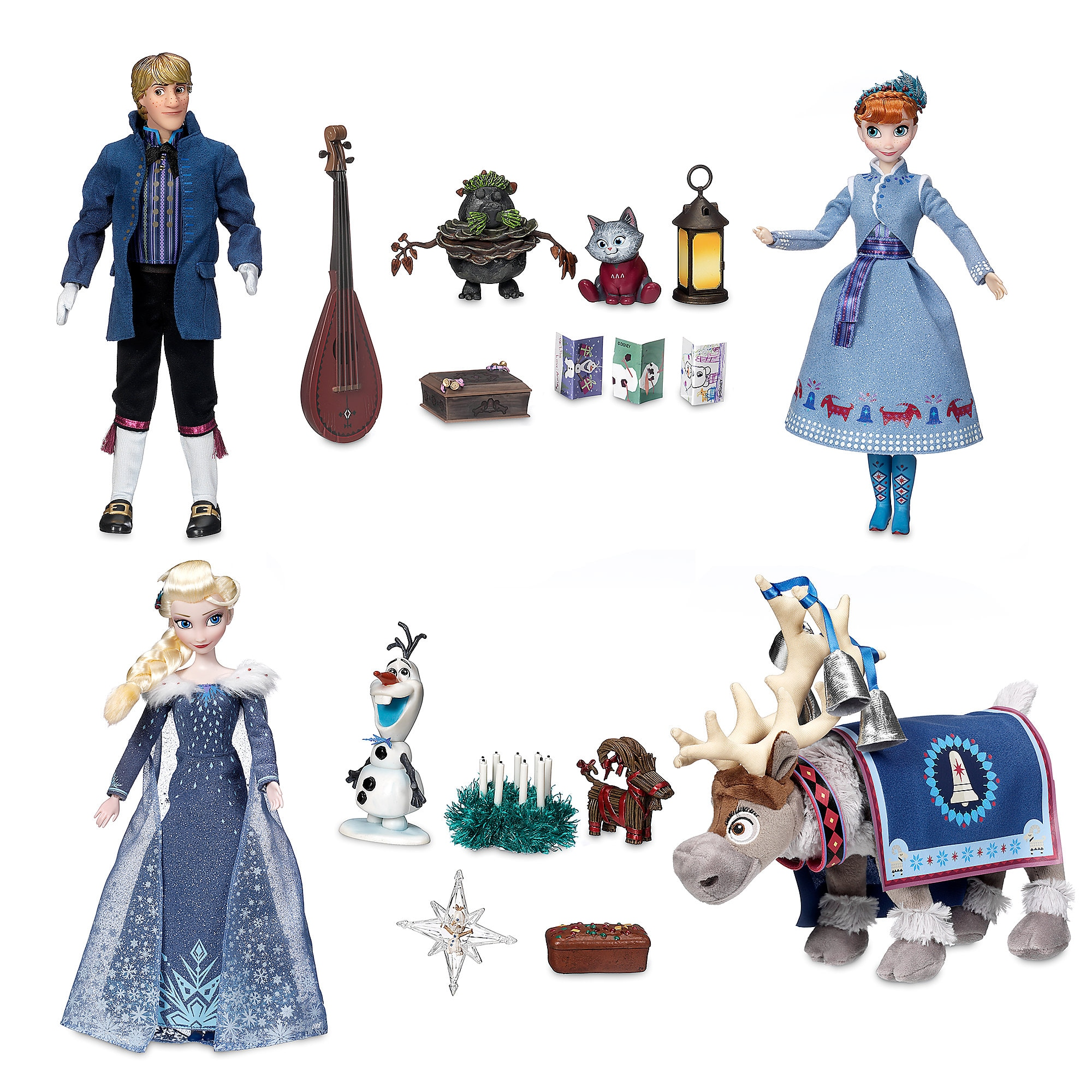 Olaf's Frozen Adventure Singing Doll Gift Set