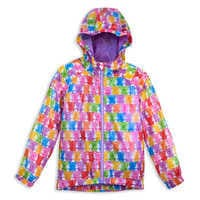 Image of Mickey and Minnie Mouse Hooded Jacket for Girls # 1