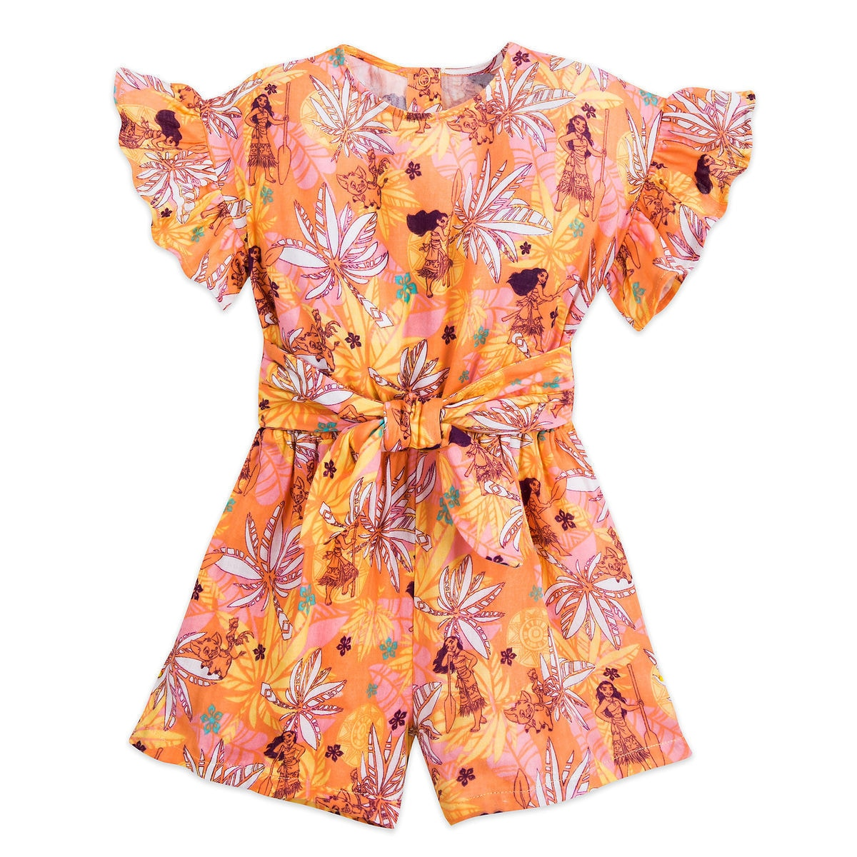 52bb6b73bd6 Product Image of Moana Romper for Girls   1