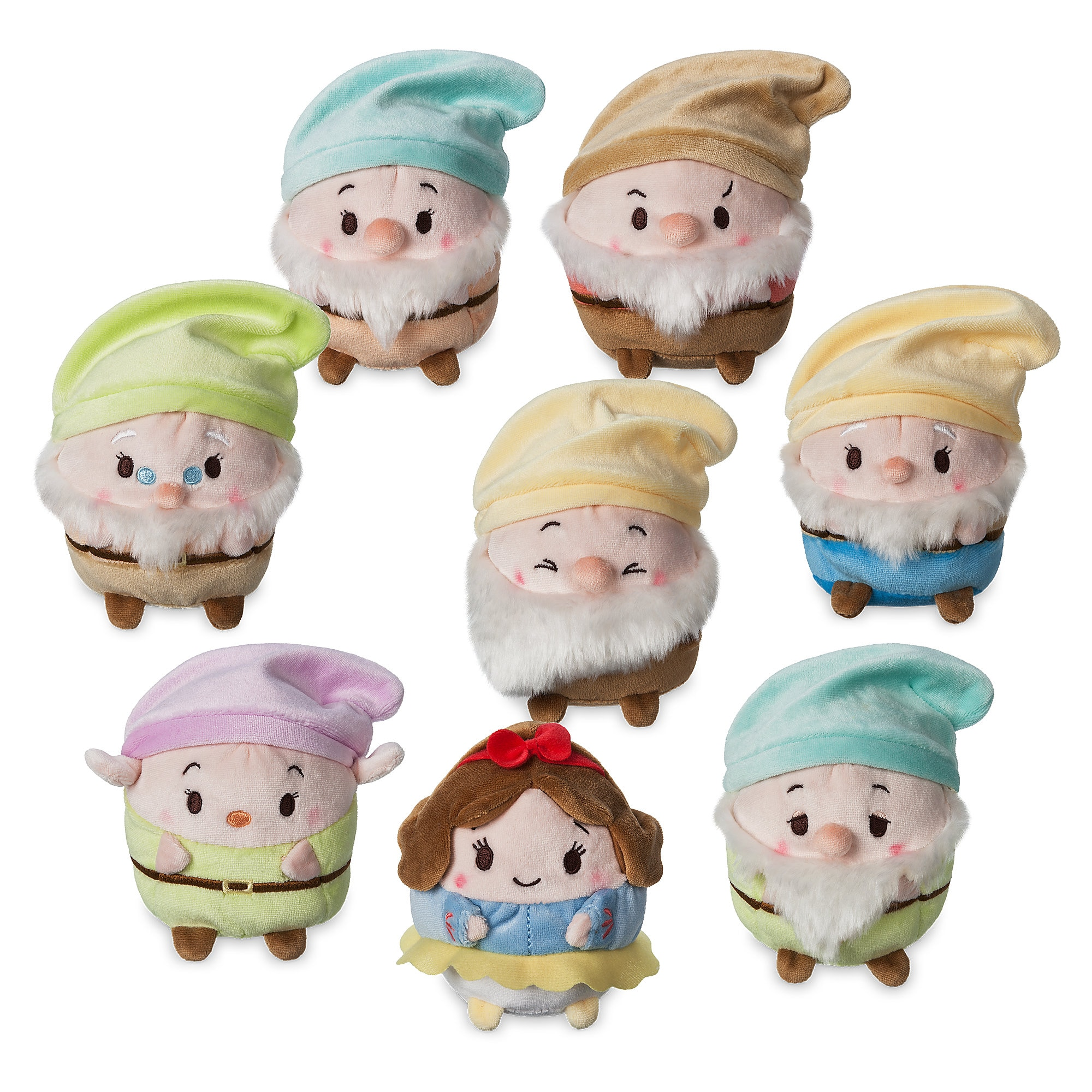 Snow White Ufufy Plush Collection