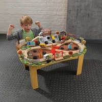 Image of Cars 3 Thunder Hollow Track Set and Table by KidKraft # 2