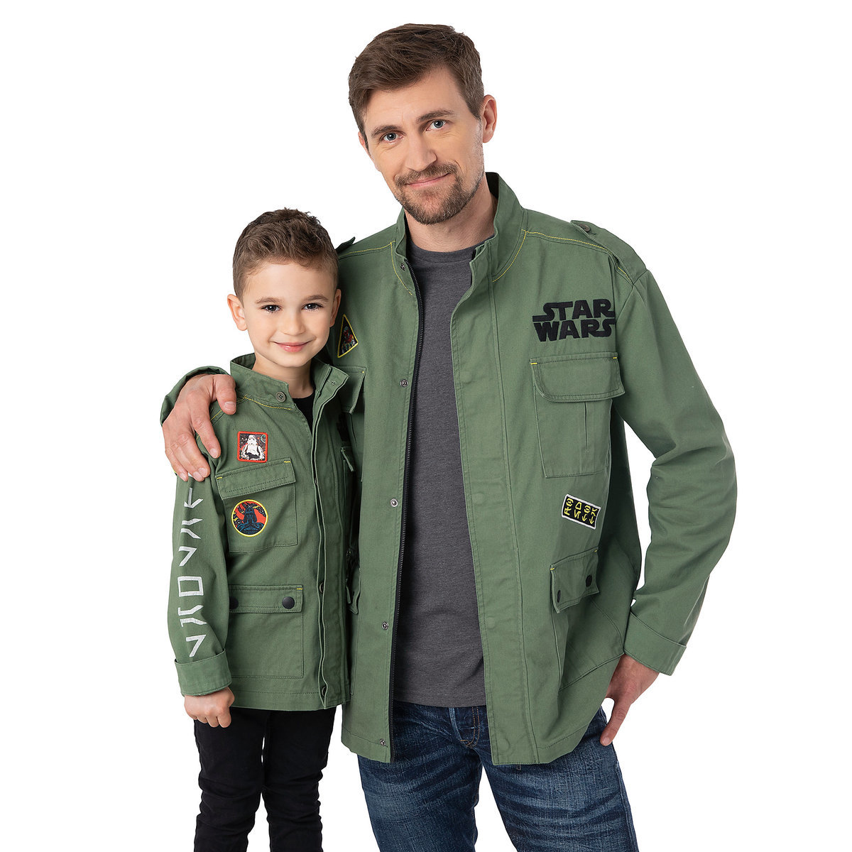 535afe0e12d Product Image of Boba Fett Military Jacket for Adults - Star Wars # 2