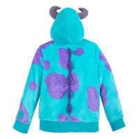 Image of Sulley Costume Zip Hoodie for Kids # 2