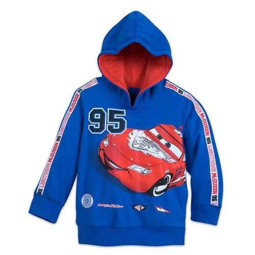 Lightning McQueen Hooded Fleece Top for Boys - Cars