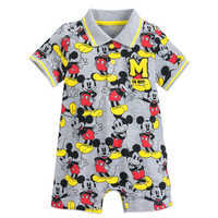 Image of Mickey Mouse Romper for Baby # 1