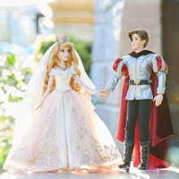Image of Aurora and Prince Phillip Limited Edition Wedding Doll Set - Sleeping Beauty 60th Anniversary - 17'' # 2