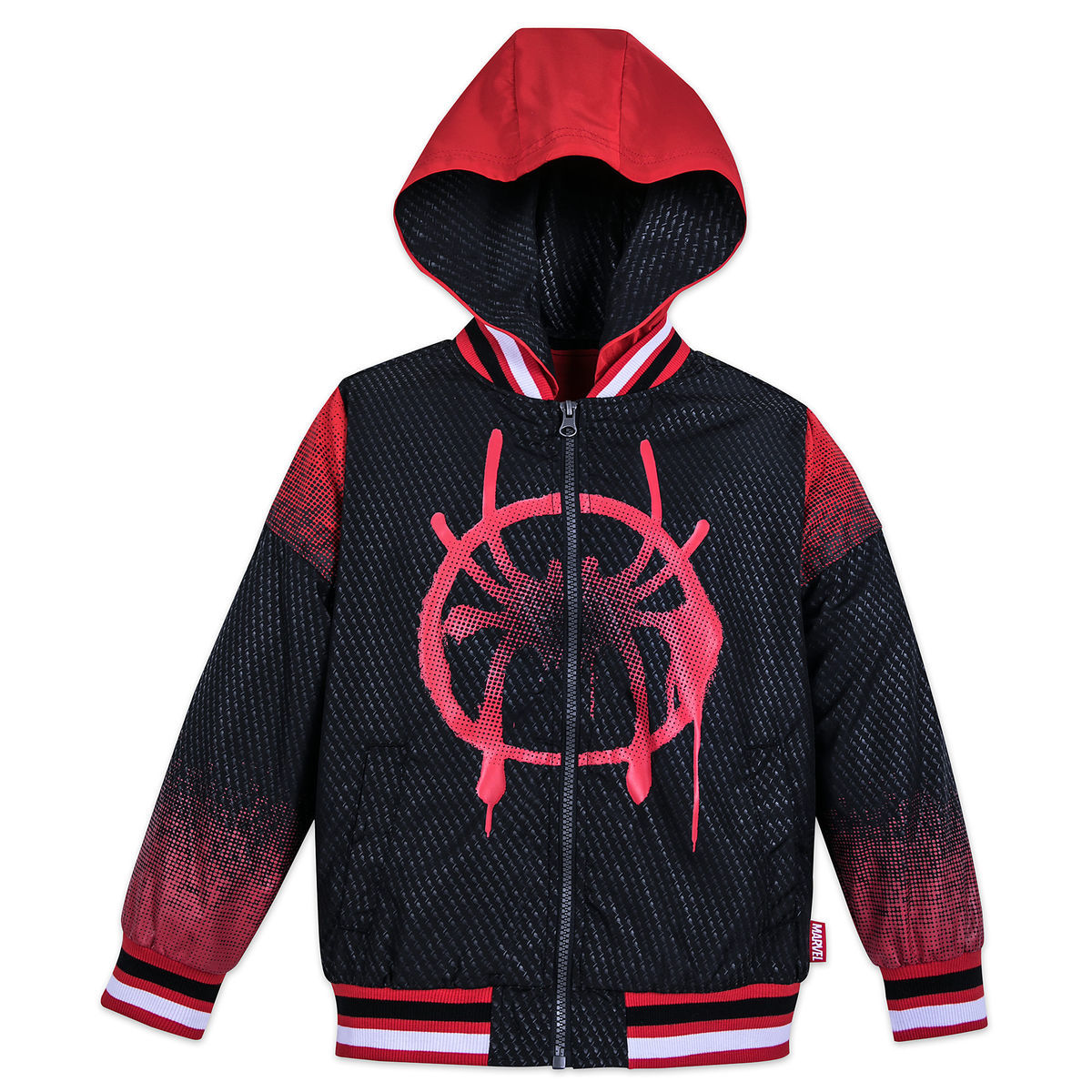 Spider Man Into The Spider Verse Hooded Jacket For Boys Shopdisney