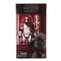 Image of Captain Phasma Action Figure - Star Wars - Black Series by Hasbro # 3