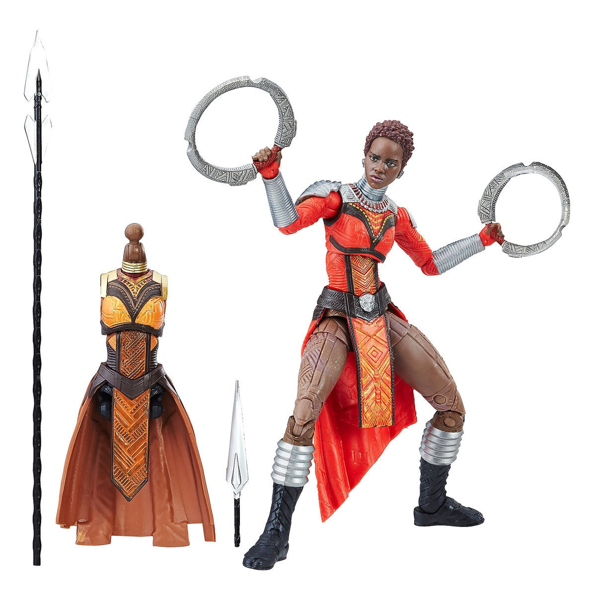 Nakia Action Figure - Black Panther Legends Series