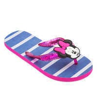 Image of Minnie Mouse Flip Flops for Kids # 1