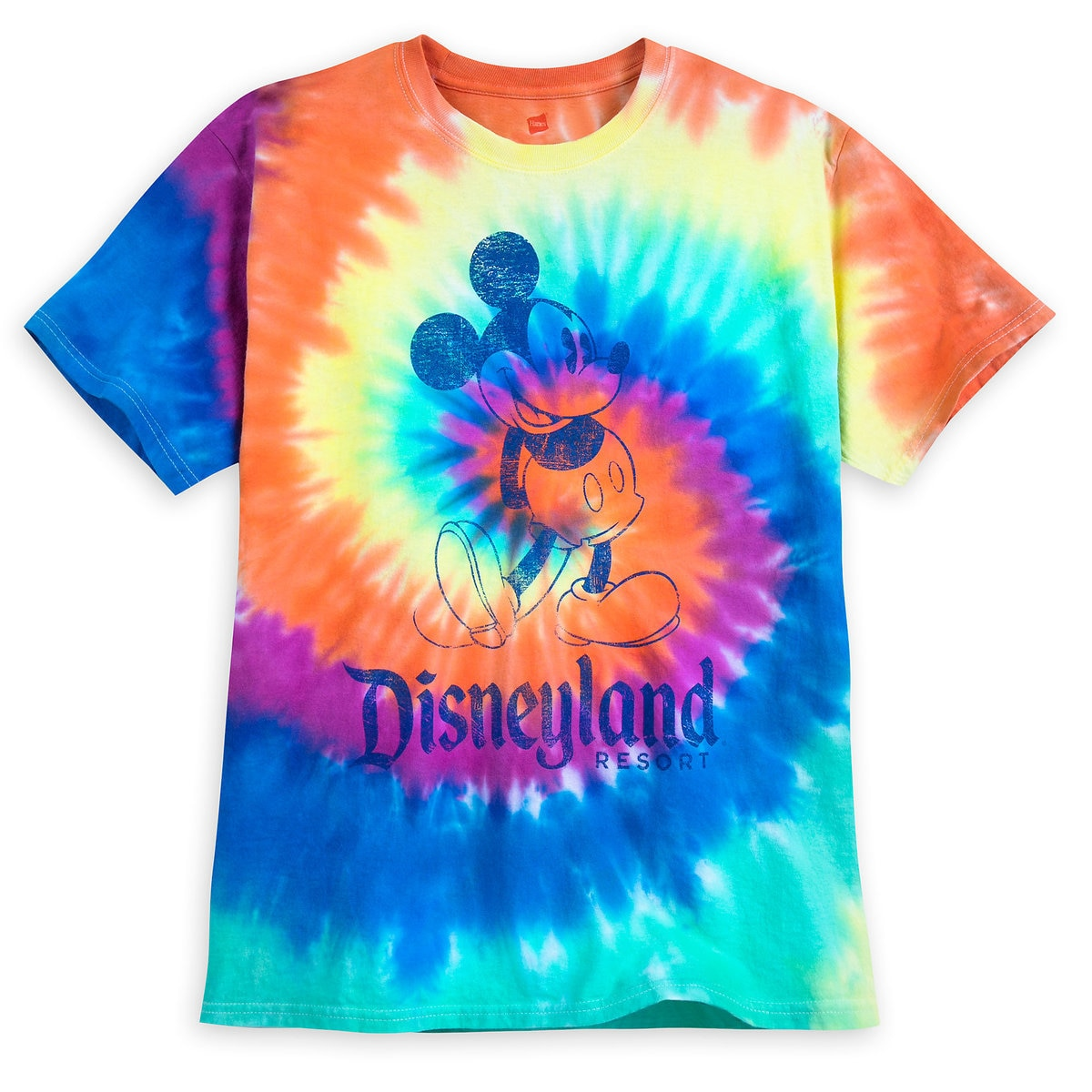 4a1dce0b Product Image of Mickey Mouse Tie-Dye T-Shirt for Adults - Disneyland #