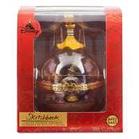 Image of Lumiere and Cogsworth Disney Duos Sketchbook Ornament - Beauty and the Beast - March - Limited Release # 4