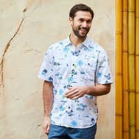 Image of Mickey Mouse Button Shirt for Men by Tommy Bahama - White # 2