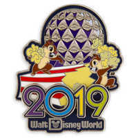 Image of Chip 'n Dale Walt Disney World Pin - 2019 # 1