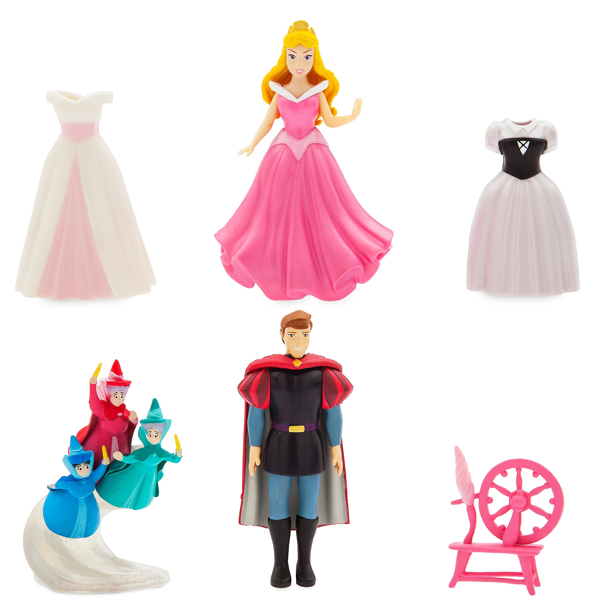 Aurora Dress Up Figure Set