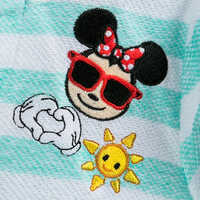 Image of Mickey Mouse and Friends Emoji Swim Cover-Up for Girls # 4