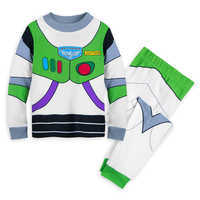 Image of Buzz Lightyear Costume PJ PALS for Boys # 1