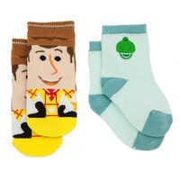 Image of Woody and Rex Socks Set for Baby - Toy Story # 1