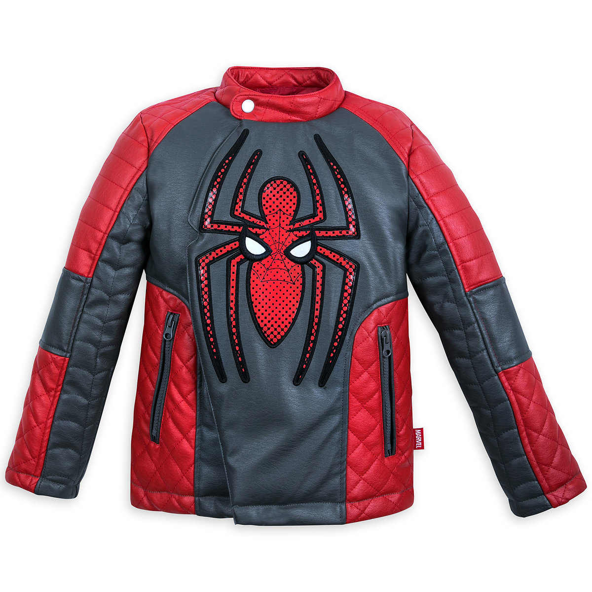 08b3a14a3 Product Image of Spider-Man Faux Leather Jacket for Kids # 1