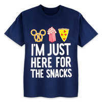 Image of Disney Parks ''Here For The Snacks'' T-Shirt for Kids # 1