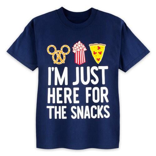 Disney Parks Here For The Snacks T Shirt For Kids