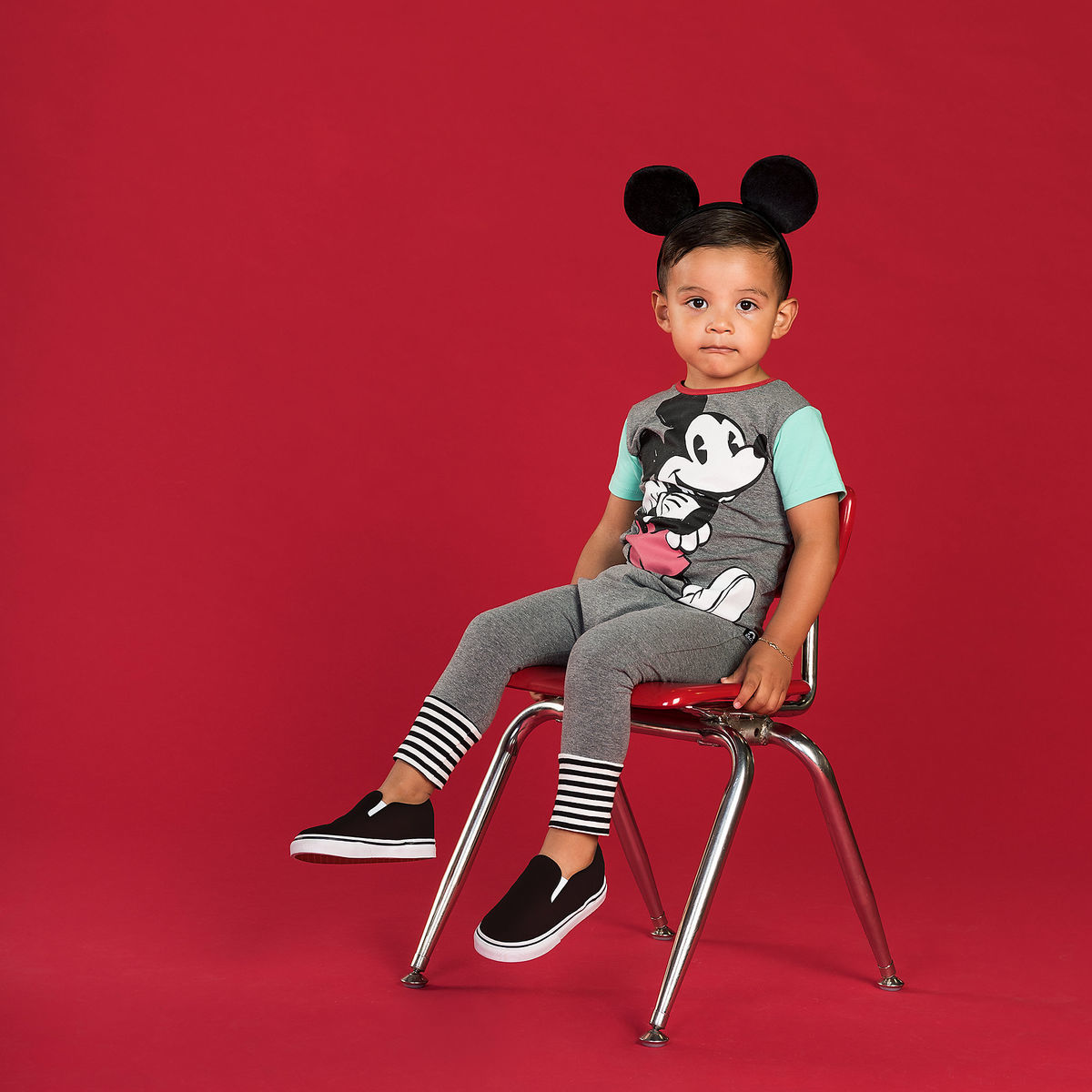Mickey Mouse Classic Romper For Baby And Kids By Rags