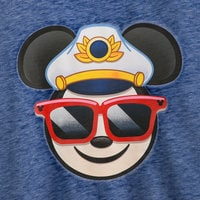Image of Captain Mickey Mouse Emoji Pullover Top - Disney Cruise Line - Women # 2