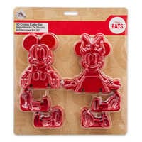 Image of Mickey and Minnie Mouse 3D Cookie Cutter Set - Disney Eats # 3