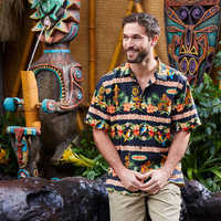 Image of Enchanted Tiki Room Silk Shirt for Men by Tommy Bahama # 2
