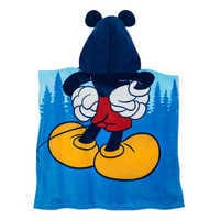 Image of Mickey Mouse Hooded Towel for Kids # 3