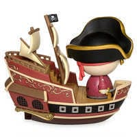 Image of Jolly Roger with Pirate Ship Dorbz Ridez Vinyl Figure Set by Funko - Pirates of the Caribbean # 2