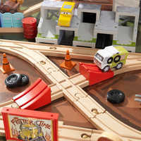 Image of Cars 3 Thunder Hollow Track Set and Table by KidKraft # 7