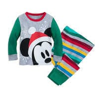 Image of Mickey Mouse Holiday PJ PALS for Baby # 1