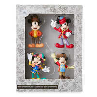 Image of Mickey Mouse Through the Years Mini Ornament Set 3 # 3