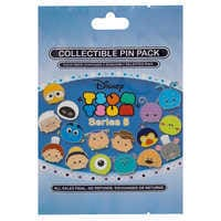 Image of PIXAR ''Tsum Tsum'' Mystery Pin Pack # 2