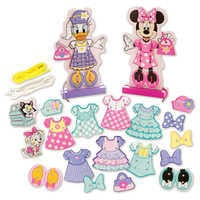 Image of Minnie & Daisy Fashion Lacing Set by Melissa & Doug # 1