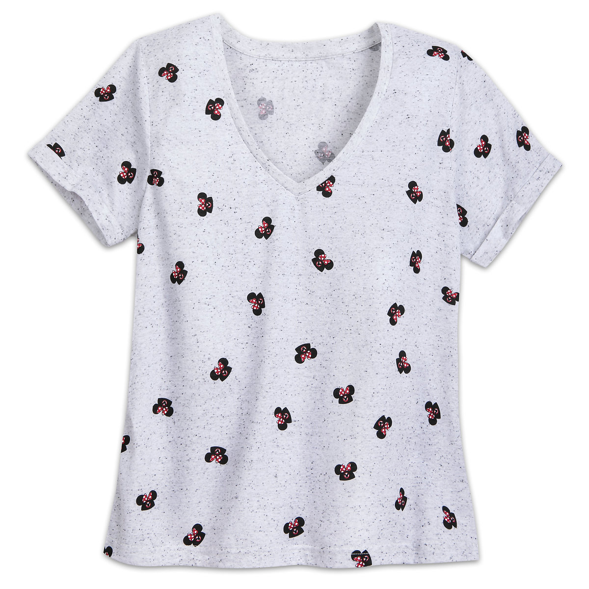 3bde7f65ab4f34 Product Image of Minnie Mouse Mouseketeer Fashion T-Shirt for Women   1