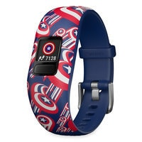 Image of Captain America Garmin vivofit jr. 2 Activity Tracker for Kids with Adjustable Band # 1
