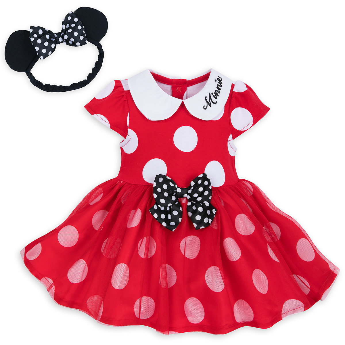0a32da17b Product Image of Minnie Mouse Costume Bodysuit for Baby - Red # 1