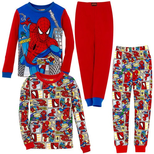Spider-Man PJ Sets for Boys -- 2 Pack