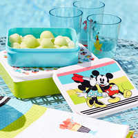 Image of Mickey and Minnie Mouse Food Storage Container Set - Disney Eats # 2